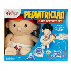 Little Medical School Pediatrician Baby Activity Set - 6 Great Activities