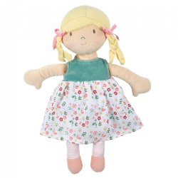Abby Blonde Doll with Heat Pack - Removable Flower Printed Dress