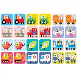 Suuuper Size Memory Game - Vehicles