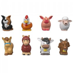 Little People Farm Animal Friends - 8 Different Farm Animals