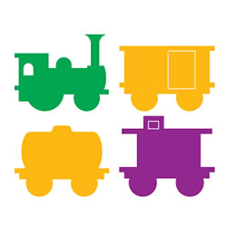 SureCut Dies - Train Set Large Dies (Set of 4)