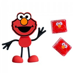Glo Pals Sesame Street Character Elmo & 2 Elmo Glo Cubes