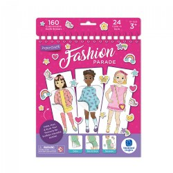 Fashion Parade Paper Dolls - Color-In - Doll Set