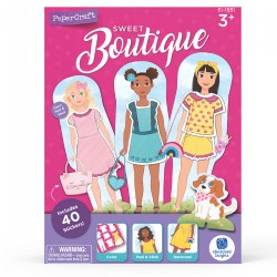 Sweet Boutique Paper Doll Playset