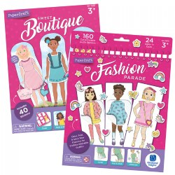 Fashion Parade Paper Dolls & Sweet Boutique Paper Doll Playset