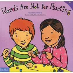 Words Are Not For Hurting - Paperback