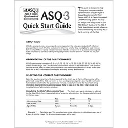 ASQ-3™ Quick Start Guide in English