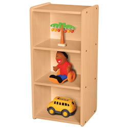 Classic Maple Narrow Shelf Storage