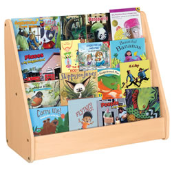 Classic Maple Laminate Book Display