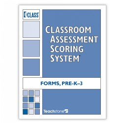CLASS® Score Sheets, PreK-Third Grade Forms (Set of 10) - English