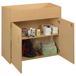 Eco Changing Table with Doors