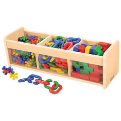 Classic Maple Laminate Tot Explorer Storage
