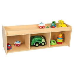 Classic Maple Laminate Pull Up Storage