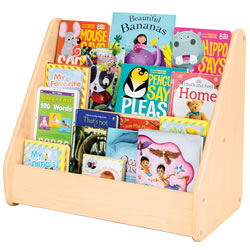 Classic Maple Laminate Toddler Book Display