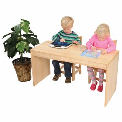 "Premium Solid Maple Student Desk - 22""Height - 4 yrs+"