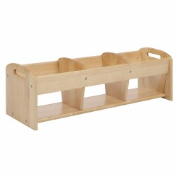 Premium Solid Maple Tot Explorer Storage