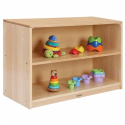 Premium Solid Maple Shelf Storage