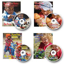 The Beyond Cribs & Rattles Symbolic Play Lesson Plan and DVD Series