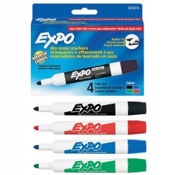 Dry Erase Marker Set - Set of 4