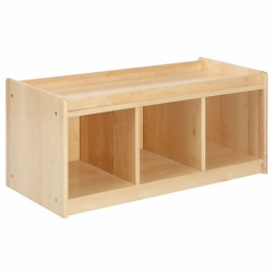 Premium Solid Maple Pull-Up Storage