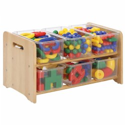 Premium Solid Maple See-All Storage