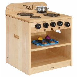 Premium Solid Maple Toddler Stove