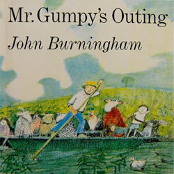 Mr. Gumpy's Outing - Paperback