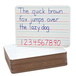 Dual-Sided Dry Erase Board - Each