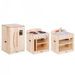 Maple Toddler Kitchen Units