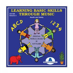 Learning Basic Skills Through Music - Health & Safety - CD