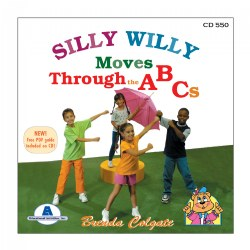 Silly Willy Moves Through The ABC's - CD