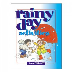 Rainy Day Activities has everything you need to make being stuck inside fun! This resource is filled with quiet games to create relaxing moments, active games to get the wiggles out, and games that require no materials at all. 64 pages.
