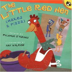 The Little Red Hen Makes a Pizza - Paperback