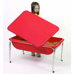 "Sensory Table with Lid - 24"" Height"