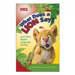 What Does a Lion Say? - Paperback