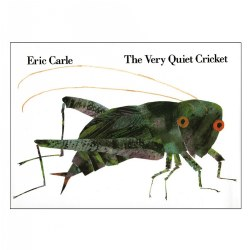 The Very Quiet Cricket - Hardcover