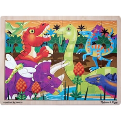 Prehistoric Sunset 24 Piece Puzzle