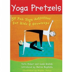 Yoga Pretzels: 50 Fun Yoga Activities for Kids & Grownups - Card Deck