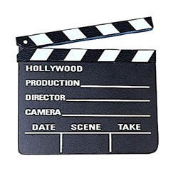 Hollywood Clap Board