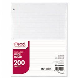 Notebook Filler Paper - 150 sheets