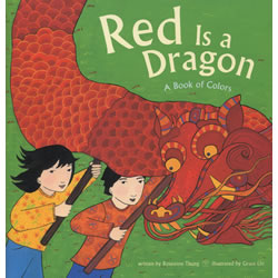 Red is a Dragon: A Book of Colors - Paperback