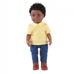 "16"" Multiethnic Doll - African American Boy"