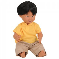 "16"" Multiethnic Doll - Native American Boy"