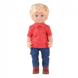 "16"" Multiethnic Doll - Caucasian Boy"