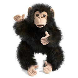 Baby Chimp Hand Puppet
