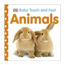 Baby Touch & Feel Animals - Board Book