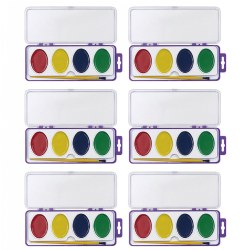Super Size Washable Watercolors - Set of 6