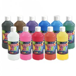 Set of 11 Kaplan Kolors 16 oz. Paints