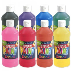 Kaplan Washable Paint - Set of 8 Colors