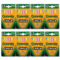 Crayola® Colored Chalk - 8 Packs